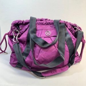 Lululemon Effortless Tote Gym Yoga Bag HTF Purple